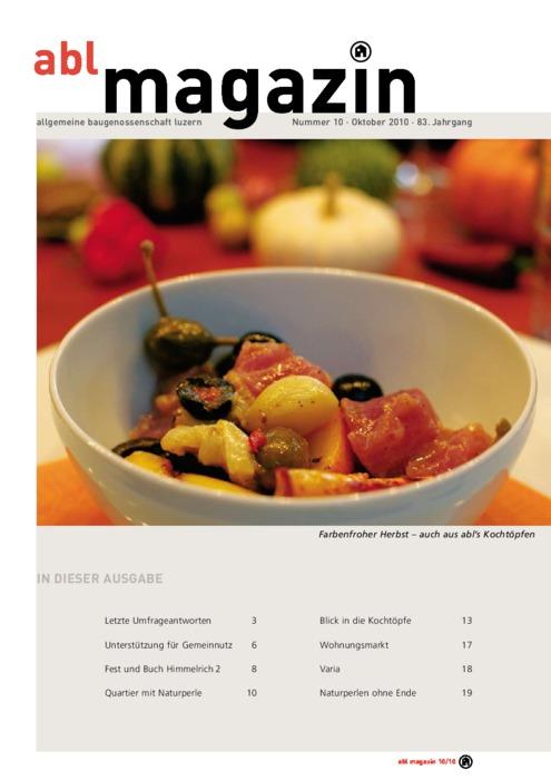 magazin Oktober 2010