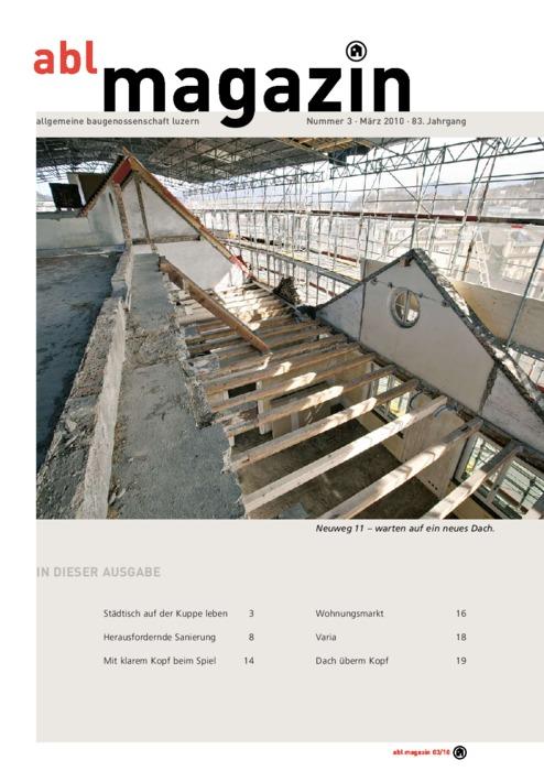 magazin März 2010