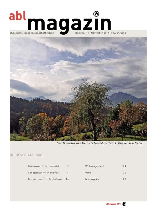 magazin November 2011