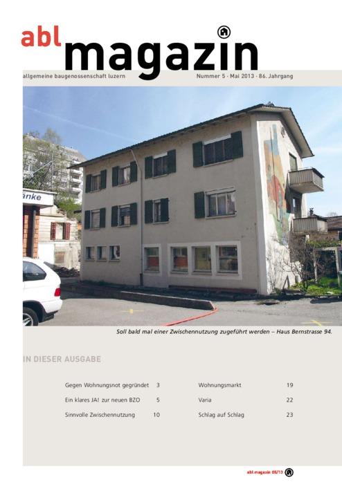 magazin Mai 2013