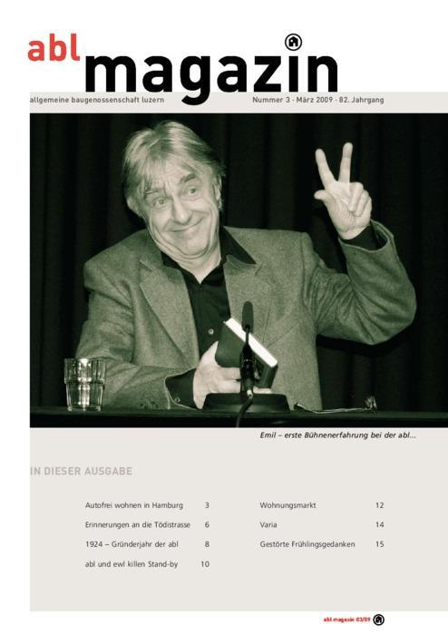 magazin März 2009