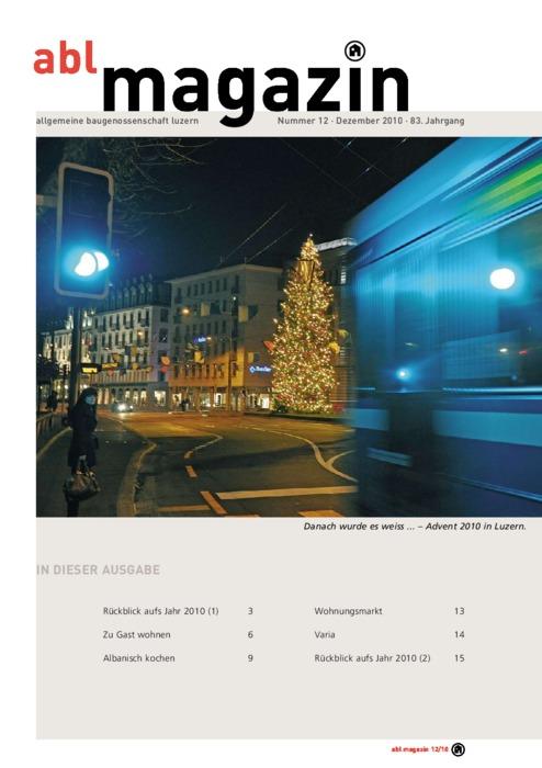 magazin Dezember 2010
