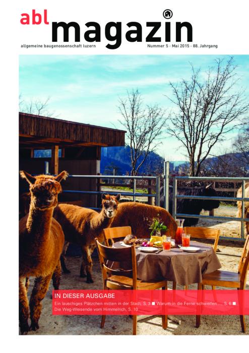 magazin Mai 2015